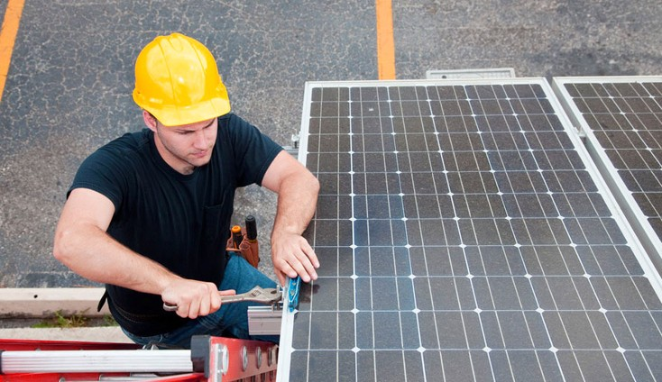 Solar System Installation for Commercial Properties